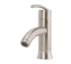 Fontaine Vincennes Single Hole Bathroom Faucet - Brushed Nickel