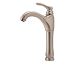 Fontaine Traditional Bathroom Vessel Sink Faucet - Brushed Nickel